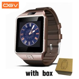 $enCountryForm.capitalKeyWord Australia - OGV Bluetooth Smart Watch Wearable Devices DZ09 Electronics Wrist Phone Watch Support SIM TF Card For smartphone Smartwatch