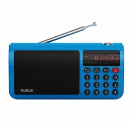 Speaker Internet Radio Australia - Rolton T50S Portable FM Radio for PC iPod Phone FM MW SW Radio Receiver Music Player Mp3 Speaker TF Card With Sleep Timer