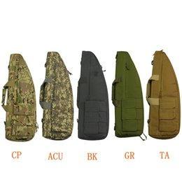 TacTical rifle gun case online shopping - Hot Sale Hunting Rifle Gun Case Tactical Soft Gun Bag cm Airsoft Paintball Rifle Nylon Shoulder Bag for Shooting Outdoor