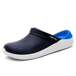$enCountryForm.capitalKeyWord UK - Men Shoes Fashion Flat Sandles Summer Outdoor Shoes Beach Male Sandals Gray Black Man Soft Casual Slippers Sneakers #552977