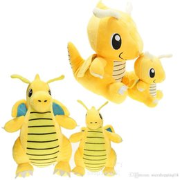 $enCountryForm.capitalKeyWord Australia - 18CM Dragonite Plush Doll Toys Cartoon Soft Stuff Animals Dolls Kawaii Pikachu Animals Figure Toy for Baby Kids Christmas Gifts t463