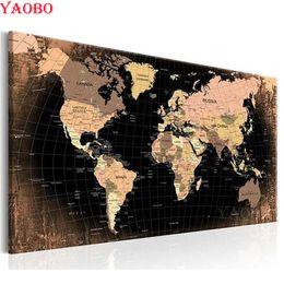 $enCountryForm.capitalKeyWord Australia - 5D Diy Diamond painting cross stitch Diamond Embroidery world map Full square round Diamond mosaic Rhinestone picture needlework