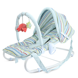 d748f62a0 I.BELIBABY Detachable Baby Rocking Chair Chaise Newborn Cradle Seat Coax Baby  Artifact Adjustable Height Furniture