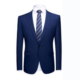 $enCountryForm.capitalKeyWord Australia - Asian size High quality Prom suits jacket Shinny 16 colors Contrast Collar Dress Dinner Blazer Homme Slim Fit Suit Coat Jacket