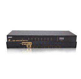 Hdmi kvm switch 8 in 1 out Cabinet HD video switching Mouse and keyboard sharing device on Sale