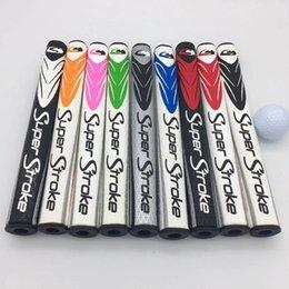 Toptan satış 2020 Golf Putter Tutma Atletik Süper Str kaliteli Orta İnce 2.0 3.0 5.0 OEM Eğitim Yardım Kulübü Sapları Ücretsiz Kargo (karışık renkli)