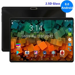 Dual Sim Slot Tablets Australia - 10 inch Tablet PC Octa Core 4GB RAM 64GB ROM Dual SIM Card Slots Youtube 1280X800 2.5D IPS Screen Android 8.0 GPS tablet 10.1