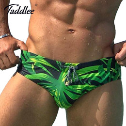 7d394c260fc25 Taddlee Brand New Mens Swim Briefs Man Swimwear Gay Penis Pouch Wj Pad  Inside Enhance Men Swimsuits Swimming Board Surf Shorts Y19052002
