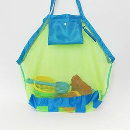 Wholesale Vogvigo Sand Beach Towel Bag Mesh Travel Storage Bag Organiser Case Child Kid Toy Place Hot Toiletry Beauty Kit Shopping