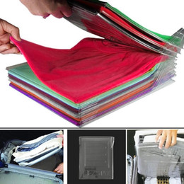 $enCountryForm.capitalKeyWord Australia - 10 pcs set Clothes Folder Arrangement T Shirts Fold Organizer T-Shirt Clothes Folding Folder Office Home Drawer