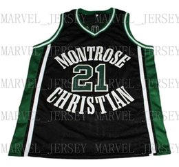 wholesale Greivis Vasquez  21 Montrose Christian Basketball Jersey Black Stitched  Custom any number name MEN WOMEN YOUTH BASKETBALL JERSEYS 8a3ab79fe