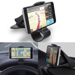 Discount cell phone holder design - Universal Car Dashboard Cell Phone GPS Mount Holder Stand HUD Design Cradle New For Cell Phone GPS Mobile Phones Accesso