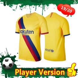 $enCountryForm.capitalKeyWord Australia - Player version 19 20 MESSI Away Soccer jersey 2019 2020 GRIEZMANN F.DE JONG Adult camiseta de fútbol SUAREZ Football Uniforms men Customized