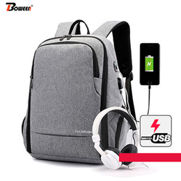 Charging Pack Australia - USB Charging Laptop Backpack Men Oxford College Wind High Student School Bags Large Capacity Travel Back Pack Male Bag Pack 2019