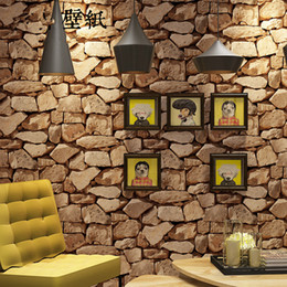 $enCountryForm.capitalKeyWord NZ - Retro personality stone marble culture stone wall paper living room bar cafe brick wallpaper office home decor wall roll bedroom living room