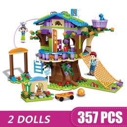 $enCountryForm.capitalKeyWord Australia - 357PCS Small Building Blocks Compatible with Legoe Mia's Tree House Toys for children girls Gift DIY