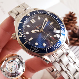 Wholesale Top Brand Watches for Men Professional Sea Diver Watch Automatic Movement mm Ceramic Bezel Master Chronometer Waterproof Watches