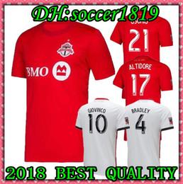 f9c412cb2 19 20 Toronto FC GIOVINCO HOME Soccer Jersey 2019 2020 Toronto FC BRADLEY  ALTIDORE Futbol Camisetas MLS Football Camisa Shirt Kit Maillot