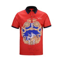 brand mens polo NZ - High Quality Brand New Men Polo Shirts Fashion Classic Short Sleeved Casual Polo Shirt Snake Bee Floral Embroidery Mens Polos Shirt 3XL
