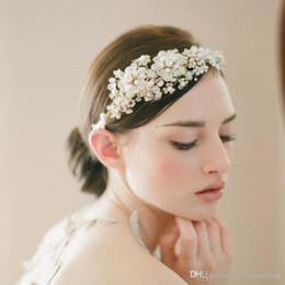 $enCountryForm.capitalKeyWord Australia - Twigs Wedding Headpieces Hair Accessories With Pearls Rhinestones Crystals Women Hair Jewelry Wedding Tiaras Bridal Headbands #O01
