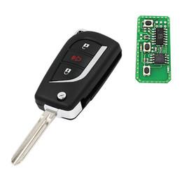 $enCountryForm.capitalKeyWord NZ - Upgrated Flip Remote key FOB for Camry Corolla Hilux 4 Buttons 4D67 433.92mhz FCC ID : B41TA