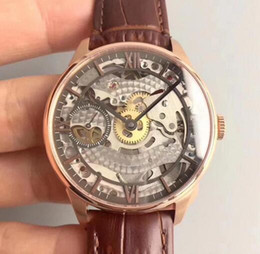 $enCountryForm.capitalKeyWord Australia - baodewatches offer T-Classic Chemin Des ourelles Squelette Watches 18K Rosegold Platted Stainless Steel Case Skeleton Dial Leather Strap