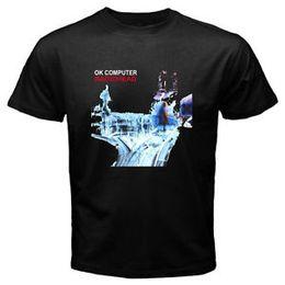 Computer printing shirt online shopping - New RADIOWholesale OK COMPUTER RoO Neck Band Logo Men s BlaO Neck T Shirt Size S to XL