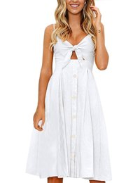 $enCountryForm.capitalKeyWord UK - 2019 fashion wild temperament personality Europe and the United States new bow tie strap sexy backless long skirt strap dress white#2028