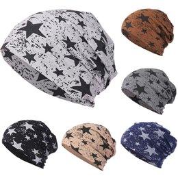 Men Women Star Warm Crochet Winter Knit Ski Beanie Skull Slouchy Caps Hat  Cool and warm hat 411e4371054f