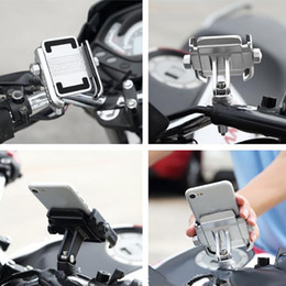 Motor Bicycles Australia - MOTOWOLF Universal Motor Bike Bicycle Motorcycle phone Mount Holder Phone Holder For IphoneX Samsung XIAOMI 360 Degrees Rotation car