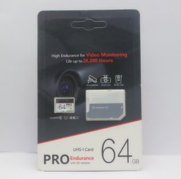 128gb sd memory card online shopping - 1pcs Popular Selling GB GB GB GB PRO microSDXC Micro SD high endurence UHS I Class10 Mobile Memory Card DHL