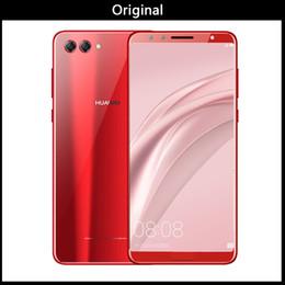 "Mobile Smartphone Digital Camera Australia - DHL Original Huawei Nova 2S Android 8.0 Mobile Phone 6.0""Full View Screen 2160*1080pix Smartphone Octa Core 4 Cameras Fingerprint ID NFC"