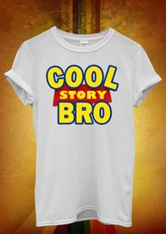 Wholesale Cool Story Bro Toy Meme Tell It Again Men Women Unisex T Shirt Tank Top Vest Funny Unisex Casual Tshirt