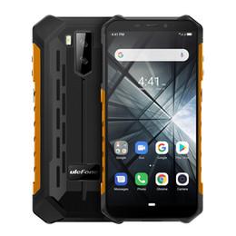 Ingrosso Telefono originale Ulefone Armatura X3 Android 9.0 Smartphone RAM 2GB ROM 32GB 5.5 '' Quad Core IP68 impermeabile Face ID Dual SIM mobile