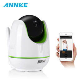 network ip camera wireless 2019 - ANNKE HD 960P Wireless WiFi IP Camera 1.3MP Pan Tilt Wi-fi Network IR Night Vision Home Security Camera Baby Monitor Cam