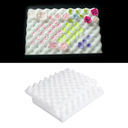 $enCountryForm.capitalKeyWord UK - Bakeware Cake Tools 2pcs lot Foam Drying Pads Sponge Mats Cake Fondant Sugar Flower Tool DIY Mold Mat Sponge Pad Gum Paste Mold