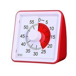 Countdown CloCk minutes online shopping - Minute Visual Timer Silent Clock Time Management Tool Classroom Conference Countdown for Children Adults Custom Table Clock ZJ0397