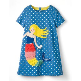 Black chiffon tunic dress online shopping - Newest Animal Embroidered Princess Dress Designer Kids Summer Dress Unicorn Animals Appliqued Baby Clothing Tunic Girl Princess Dresses
