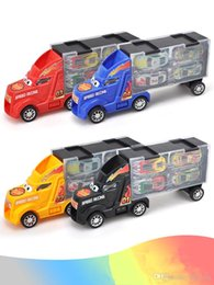 $enCountryForm.capitalKeyWord NZ - Cars Model Truck Toys Metal Shell Simulation Hammer Model Racing Children's Toy Gift Collection Children's Toys Trailer Container