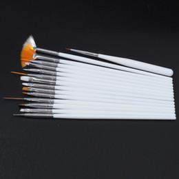 Professional Nail Painting Tools Australia - Tools 15Pcs set Nail Art Decoration Brushes Set,Professional Painting Detailing Pen, UV Nail Gel Polish Brushes, DIY Manicure Styling