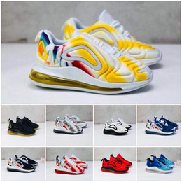 kids max NZ - 2019 Shock Ultra Running Shoes maxes Navy Teal kids youth Flair Mens Womens Trainers Fly Sports Rainbow Sneakers