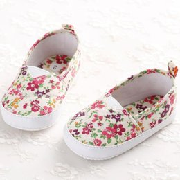 toddler moccasins Australia - Fashion New Baby Girl Shoes Moccasins Moccs Shoes for Toddlers Newborn Baby Girl Floral Printed Soft Sole Prewalker Shoes#45