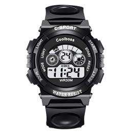 $enCountryForm.capitalKeyWord Australia - Fashion Brand Digital Watch Men LED Date Sport Military Rubber Life Waterproof Watch Alarm relogio masculino Wristwatche