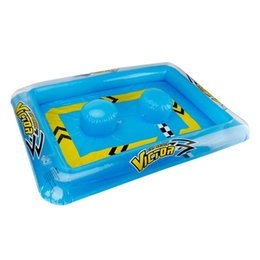 $enCountryForm.capitalKeyWord Australia - Children's Small Water Toy Mini Remote Control Boat Inflatable Racing Pool