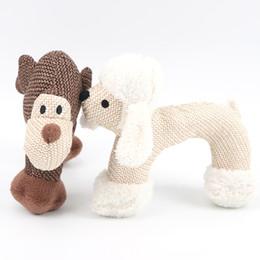 $enCountryForm.capitalKeyWord Australia - Pet dog toy chewing training toy linen vocalization Toys