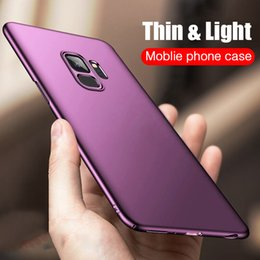 $enCountryForm.capitalKeyWord NZ - H&A Luxury Slim PC Frosted Hard Protective Case For Samsung Galaxy S9 S9 Plus Full Coverage Case For Samsung S9 Plus Phone Cover