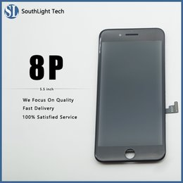 $enCountryForm.capitalKeyWord NZ - Free DHL Wholesale High Brightness Display For Iphone 8 Plus LCD Screen With Perfect 3D Response Sensitive Digitizer Fingerprint Tested Well
