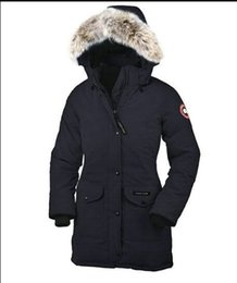 Goose Down Winter Parkas Women Australia - New Winter Fourrure Canada Goose Down Parka Outerwear Big Fur Hooded Women Down Jacket Coat High Quality