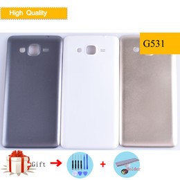 $enCountryForm.capitalKeyWord Australia - Battery Back Cover For Samsung Galaxy Grand Prime G530 G530H G530F G531 G531H G531F Rear Housing Door Replacement with