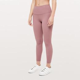 2020 mejor diseñadorlululemonlulupolainas pantalones de yoga de limón 32 016 25 78 mujeres deportes entrenamiento sin fisuras de camuflaje rosa yogaworld 4ae9 # en venta